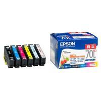 【商品名】【純正品】 エプソン(EPSON)対応 インクカートリッジ 6色セット 増量タイプ 1箱(...