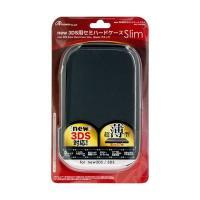 【商品名】(まとめ)アンサー new 3DS用 「セミハードケース スリム」 (ブラック) ANS-...