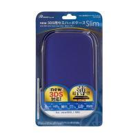 【商品名】(まとめ)アンサー new 3DS用 「セミハードケース スリム」 (ブルー) ANS-3...