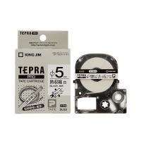 【商品名】(まとめ) キングジム テプラ PRO テープカートリッジ 熱収縮チューブ 直径5mm 白...