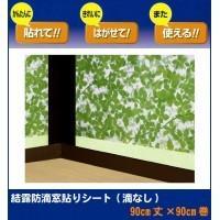 簡単に貼れて、キレイにはがせて、また使える、吸水テープ付きの結露防止窓貼りシートです。 製造国:日本...