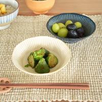小鉢 食器 おしゃれ 和食器 軽い 美濃焼 ボウル サラダボウル 浅鉢 平鉢 (軽量)撥水十草4.0浅鉢