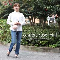 カメラケース camera case ミラーレス一眼カメラ用 カメラのお洋服 ミニ /コーラルレディーローズ|mi-na|02