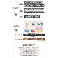 カメラストラップ 専用ネーム刺繍|mi-na|02