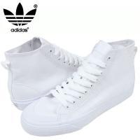 adidas アディダス NIZZA HI CL 78 スニーカー [ALL WHITE]です。  ...