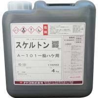 【品名】スケルトン「一般ハケ用剥離剤」 【特徴】スケルトンは業務用の強力な塗膜剥離剤です。塗膜を膨潤...