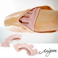 天然ひのきエキスの抗菌・防臭機能のあるサラサラ5本指トウパット!トウシューズを履いたときに感じる指と...