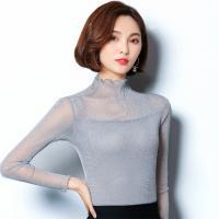 袖裾二段フリル レーストップス ダンス衣装 レッスンウェア    袖が二段フリルになっており、豪華で...