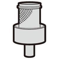シャープ 掃除機用 筒型フィルター(2172210568)  対応機種 EC-FX60T-R   E...