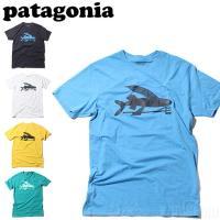 パタゴニア patagonia メンズ Tシャツ 半袖 Men's Flying Fish Cot/Pol T-Shirts アウトレット 38908 ネコポス選択で送料240円