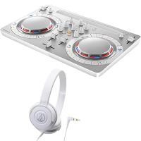 【セット内容】  DJコントローラー:PIONEER / DDJ-WEGO4-W ??1  ヘッドホ...