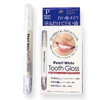 『歯のマニキュア ホワイトニング PearlWhite ToothGloss』 白い歯メイク!面接や...