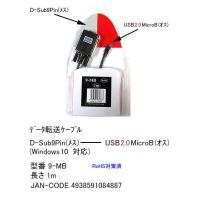 ■製造元/商品型番:カモン製 9-MB ■仕様:D-Sub9Pin(メス)⇔USB MicroB(オ...