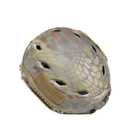 EMERSON製 Fast BJ タイプ ヘルメット MD迷彩 爬虫類迷彩