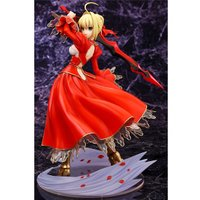 対戦型ダンジョンRPG『Fate/EXTRA』に登場する、赤い衣装を纏った「セイバー」を、ムックの表...