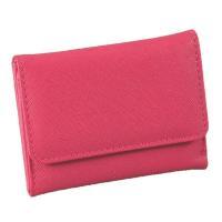 ポイント15倍マルチに使える スマート手のひら財布(ピンク)送料無料