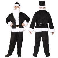 ポイント15倍〔クリスマスコスプレ 衣装〕 GOGOサンタサン ブラック送料無料