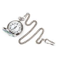 ・ステンドグラス風 懐中時計 チェーン                    ・セット内容:懐中時計...