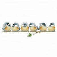 ・クロスステッチ刺繍キット          ・キット内容: 刺繍針2本各種刺繍糸、完成見本図、カラ...