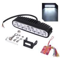 汎用 LED ワークライト 40W 高輝度 6000K 10‐30V IP68 広角 狭角 作業灯 ライトバー フォグ お守り付 【送料無料】skr-c67