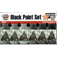 アンドレア ブラック(黒色)ペイントセット  BLACK PAINT SET|miniature-park|03