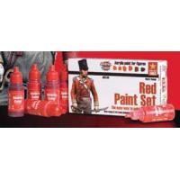 *アンドレア レッド(赤色)ペイントセット  RED PAINT SET 17ml x 6本入[ACS-004]|miniature-park