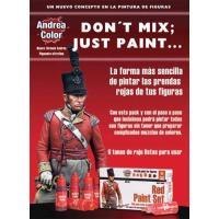 *アンドレア レッド(赤色)ペイントセット  RED PAINT SET 17ml x 6本入[ACS-004]|miniature-park|02