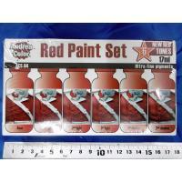 *アンドレア レッド(赤色)ペイントセット  RED PAINT SET 17ml x 6本入[ACS-004]|miniature-park|04