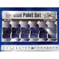 アンドレア ブルー(青色)ペイントセット  BLUE PAINT SET 17ml x 6本入[ACS-005] miniature-park 04