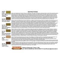 第二次世界大戦 アメリカ軍 ユニフォームカラーセット No.1(戦闘服&作業服用)  WWll US ARMY UNIFORM SET1  22ml x 6本入|miniature-park|02