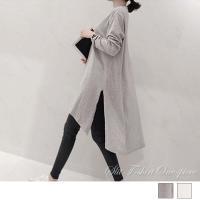 カラー:ホワイト/グレー 素材:綿65%+ポリエステル35% サイズ:ワンサイズ 着丈:前約75cm...