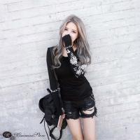 カラー:ブラック 素材:ポリエステル100% サイズ:ワンサイズ 着丈:約51cm 肩幅:約30cm...