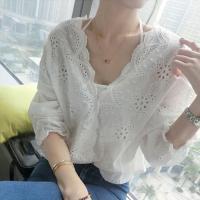 カラー:ホワイト 素材:コットン&ポリエステル サイズ:ワンサイズ 着丈:約50cm 袖丈(肩幅含む...