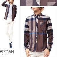シャツ メンズ シャツ 長袖シャツ ネルシャツ フランネルシャツ フランネル ワークシャツ チェックシャツ パターンチェック ボタンダウン