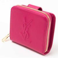 ◆商品名 SAINT LAURENT サンローラン  Snap Leather Wallet スナッ...