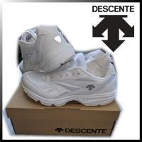 デサント シューズ 白 ホワイト ムーンスター 月星 DST310G 運動靴 通学 体育館
