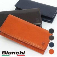 ビアンキ Bianchi イタリアンレザー 長財布 メンズ ウォレット  BIB1504 SS16 ...