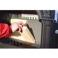 耐火レンガ 標準寸法品(1本) [ 1601103 ]  安全と性能維持に大切な交換部品  炉内正面...