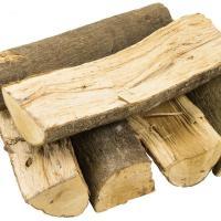 送料無料 乾燥薪【 樫(カシ)・ 焚付用 大割 】 箱入り3束分  日本有数の広葉樹の産地から暖炉や...