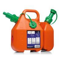 ■コンビ缶 (*UN規格適合)  燃料6リットルとチェンオイル2.5リットルが入るコンビ缶。  ・燃...