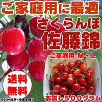 「さくらんぼ」は大変デリケートな果物でございます。粒により収穫日が異なり、2週間の「旬」の間にほどん...