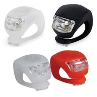 B013_TKG』 自転車LEDライトの2個セット 取付け簡単!設置場所自由!点灯長持ち!軽量なシリコン サイクリングライト|mixy4