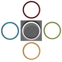 NinoLite UVフィルター 49mm 5色選択 カメラ レンズ 保護 フィルターの上からレンズキャップが取り付け可能な構造|mixy4