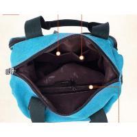 ショルダーバッグ 2way レディース メンズ 男女兼用 帆布 キャンバス 通勤 通学 グレー ブルー ベージュ 大容量 ショルダー バッグ