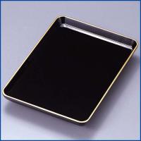品番:KT-07 サイズ(約):24×16.7×高さ1.7cm 材質:木質複合樹脂(漆器用樹脂)(木...