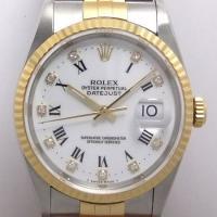 「商品名」ロレックス デイトジャスト 16233G ダイヤ10Pインデックス メンズ 時計  「シリ...