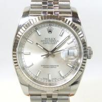 「商品名」ロレックス デイトジャスト K18WG(ホワイトゴールド)ベゼル 116234 メンズ 時...