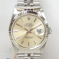 「商品名」ロレックス デイトジャスト K18WG(ホワイトゴールド)ベゼル 16234 メンズ 時計...