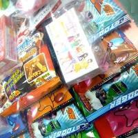 お祭り・イベント用 お菓子のくじ引き お菓子台紙当て60付|mizota|02