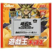 希望小売価格:100円×24個入り1BOX 2,400円(税別)  カルビー×コナミ 遊戯王OCGデ...